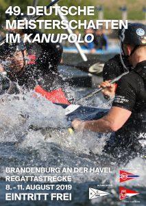 Plakat fürdie Deutsche Meisterschaft im Kau-Polo 2019
