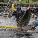 Anstoß beim Kanu-Polo